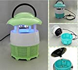 #5: Triton Retails Mini Mosquito killer device, Mini Mosquito Photocatalyst mosquito lamps, Kills Flies, mosquitoes, moths and other insects, No radiation or harmful chemicals, Electronic Mosquito catching machine, E Mosquito killer