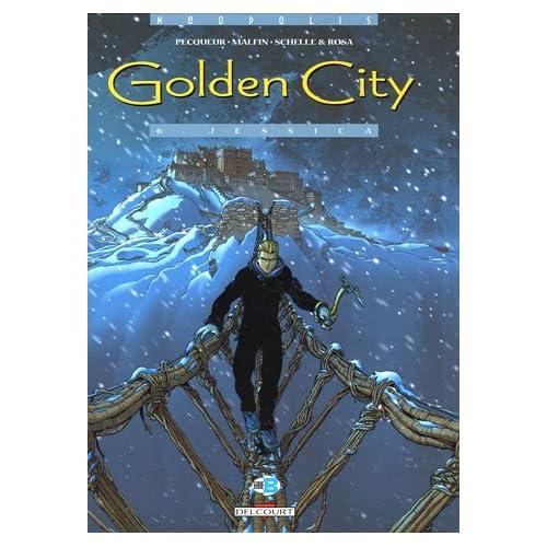 Golden City : Pack en 2 volumes : Tome 1, Pilleurs d'épaves ; Tome 6, Jessica