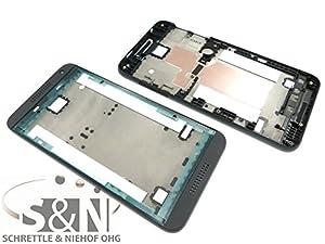 NG-Mobile Original HTC Desire 610 Front Gehäuse Cover für Display Kleber, schwarz + NG-Mobile