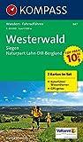 Westerwald - Siegen - Naturpark Lahn-Dill-Bergland: Wanderkarten-Set mit Naturführer in der Schutzhülle. GPS-genau. 1:50000 (KOMPASS-Wanderkarten, Band 847)