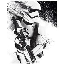 Póster Star Wars Episode VII - Stormtrooper Paint - cartel económico, póster XXL