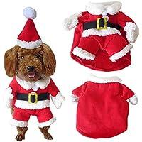 Pet Vestito Dal Cucciolo Del Maglietta Costume Natale striscia acrilico, Badalink Inverno Maglione Cappotto Piccolo Animale Domestico Cagnolino ,cotone