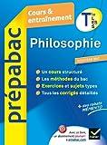 Prepabac Cours ET Entrainement: Philosophie Terminale L, Es, S