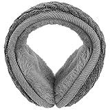 Vbiger Invierno Cálido Orejeras de Felpa Earmuff Caliente para Mujeres Niñas (Gris1)