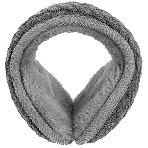 Vbiger Ohrenschützer Ohrenwärmer Warme Ohrenschützer für Damen und Herren, Grau1, Einheitsgröße