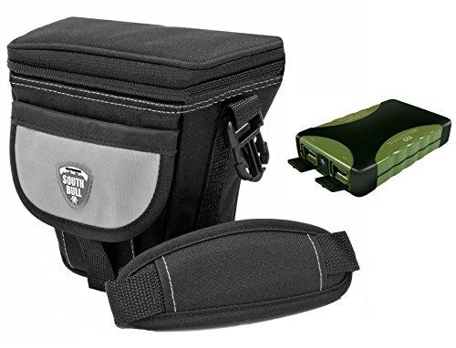 Foto Kamera Tasche Southbull Valley L mit Regencape im Start Set mit Barkan Outdoor Portable Charger PB88R.G 8800 mAh