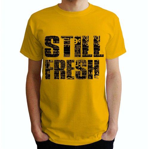 Still Fresh Herren T-Shirt Gelb