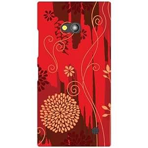 Printland Nokia Lumia 730 Back Cover High Quality Designer Case