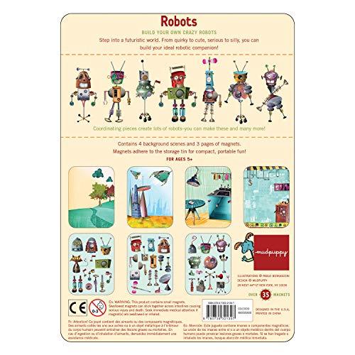Robots Magnetic Figures