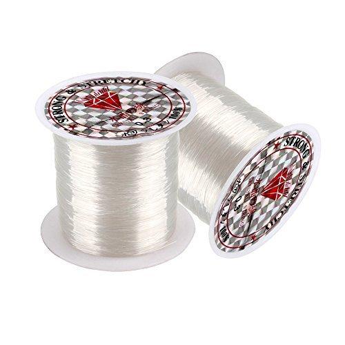SENZEAL 2 x 0,3 mm de diámetro línea pesca Clear Nylon hilo de pesca 100 M