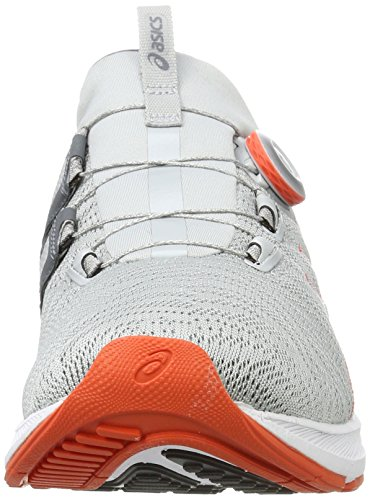 Asics Dynamis, Chaussures de Running Homme Gris (Mid Grey/carbon/white)