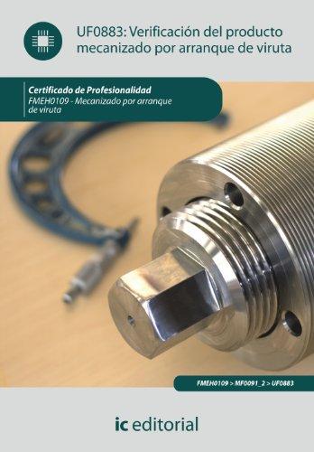 Verificación del producto mecanizado por arranque de viruta. fmeh0109 - mecanizado por arranque de viruta
