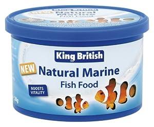 King British Natural Marine Fish Food 28 G Pack Of 3 from Beaphar Uk Ltd