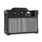DJ-Tech Mini Cube BT PA Anlage mobiler PA-Lautsprecher (Bluetooth, USB-Port, Cinch Ein- und Ausgang, 13 Watt max., Akku, portabel,) schwarz