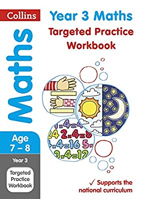 Year 3 Maths Targeted Practice Workbook: 2019 tests (Collins KS2 Practice) from Collins