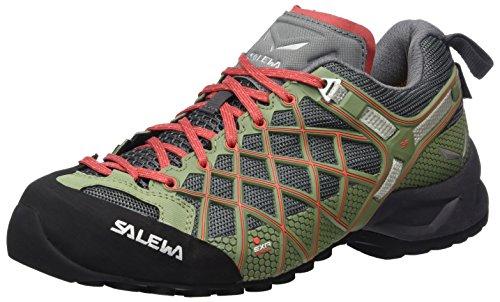 Salewa Ladies Ws Wildfire S Gore-tex Scarpe Da Trekking E Da Trekking Multicolore (magnete / Corallo Caldo)