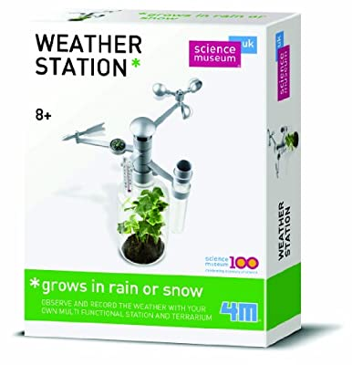 Great Gizmos Kidz Labs - Estación meteorológica educativa (en inglés) por Great Gizmos
