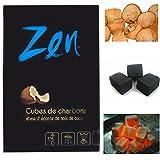 Shisha Coal Coconut - ZEN (100 minutes burning time)