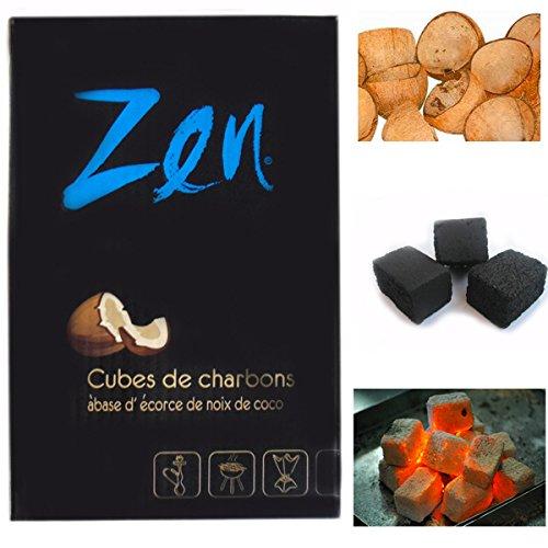 Shisha carbón de coco–Zen (100minutos tiempo de combustión)