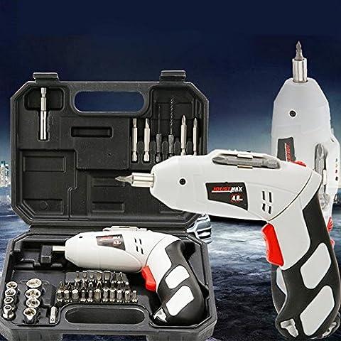 suplong 45in 1cacciavite elettrico Kit di attrezzi per riparazione mano set batteria trapano elettrico e supporto per fissaggio 4.8V