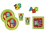 Amscan 76 Teile Schulanfang Einschulung Party Deko Set für 16 Personen