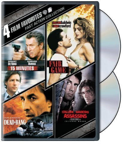 4 Film Favorites: Fast Action (15 Minutes, Assassins, Dead-Bang, Fair Game) by Warner Home Video