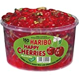Haribo Happy Cherries, Dose, 150 Stück, 1200g
