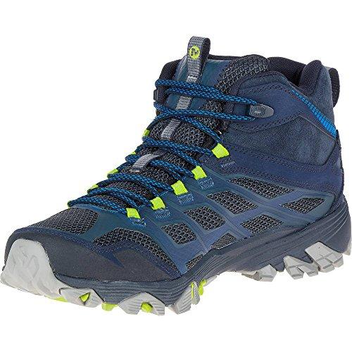 Merrell Moab Fst Mid Gtx, Chaussures de Randonnée Hautes Homme green