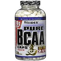 Weider, Pure BCAA Caps, 1er Pack (1x 270 Kapseln) preisvergleich bei fajdalomcsillapitas.eu