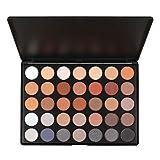 Pure Vie® Professionelle 30 Farben Lidschatten Palette Makeup Kit - Ideal für Sowohl den Professionellen als auch Persönlichen Gebrauch
