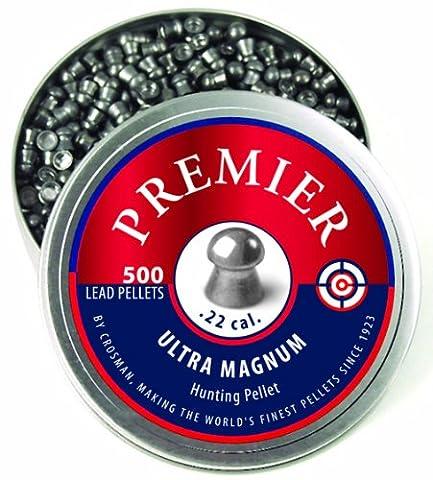 .22 Caliber Domed Premier Pellets 500ct