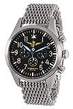 Aeronautica Militare CAVQ1M - Reloj, correa de acero inoxidable color metalizado