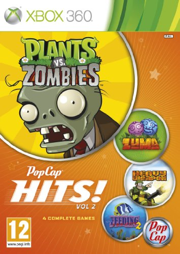 Mystery-spiele Xbox Für 360 ([UK-Import]Pop Cap Hits Volume 2 (Plants vs Zombies / Zuma / Feeding Fenzy 2 and Heavy Weapons) Game XBOX 360)