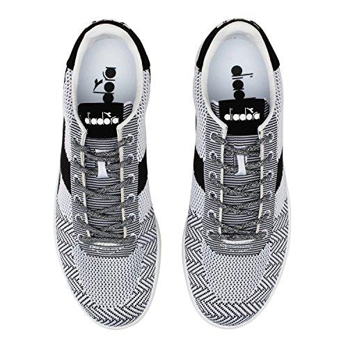 Diadora B.Elite Weave, Sneaker Uomo C0351 - BIANCO-NERO