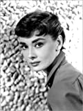 Posterlounge Leinwandbild 30 x 40 cm: Audrey Hepburn von Everett Collection - fertiges Wandbild, Bild auf Keilrahmen, Fertigbild auf echter Leinwand, Leinwanddruck