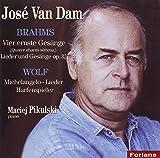 Brahms: Vier ernste Gesänge Op121; Wolf: Michelangelo Lieder No1-03