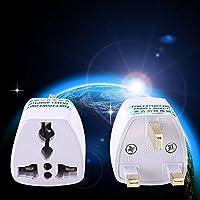 Cewaal Portable Tour UK Convertir a Universal Enchufe del convertidor del adaptador del recorrido del enchufe