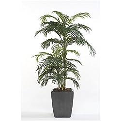 artplants Künstliche Areca-Palme CAMYRA, 33 Palmwedel, grün, 170 cm - Kunst Palme/Goldfruchtpalme