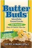 Butter Buds 20 x 2 g Sachets, Butter Flavor Sprinkles Granules, Fat Free, Gluten Free