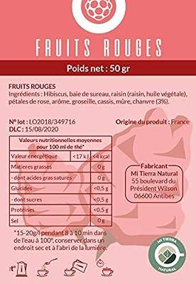 Infusion fruits rouges enrichie au chanvre 50gr