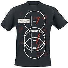 39aa69e12a2 Twenty One Pilots Overstamp Camiseta Negro