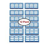 Wigbow 12 pack Replacement Filter Cartridges compatible with Cat and Dog Mate Pet Fountains