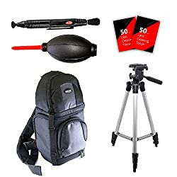 Tripod & More Accessories For Canon Eos Rebel T5 T5i T6 T6i & All Digital Cameras