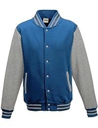 Just Hoods - Unisex College Jacke 'Varsity Jacket'