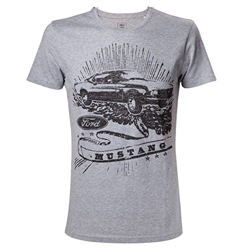 ford-mustang-vintage-mustang-t-shirt-gris-chine-m