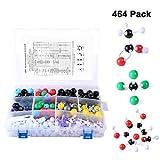 Winni43Julian Modello molecolare Set - 464 pz Kit per Modellini Molecolarie Chimica Organica e Inorganica - Atomi e Molecole Modelli