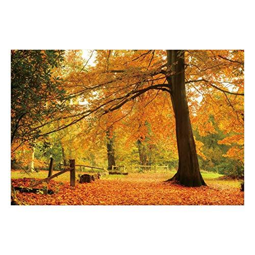Cuadro de Árbol de la Vida clásico marrón de Lienzo para salón de 120 x 80 cm Bretaña - LOLAhome