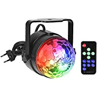 Party Lights Stage Lighting Disco DJ Christmas Gift Multi de Colored, Sound Activated Party Lights Disco Ball
