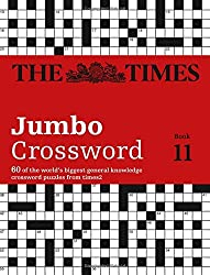The Times 2 Jumbo Crossword Book 11 (Crosswords) by The Times Mind Games (2016-07-14)