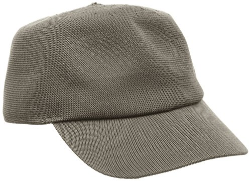 kangol-headwear-mens-tropic-hardee-baseball-cap-grey-sergeant-medium
